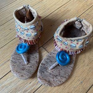 Moana Dress-Up Shoes